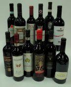 Italian Red Wine: Vecciano Duca di Saragnano Toscana 2017; Fassati Pasiteo Montepulciano 2016;