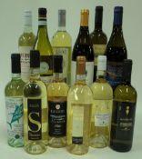 Italian White Wine: Siddura Mala 2018; La Canosa Peko 2019; Alinos 2018; Villa Angela Pecorino 2019;