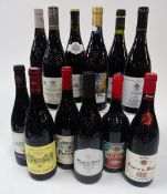 French Red Wine from the Rhone Valley: Bonpas Réserve 2019; IPL Plan de Dieu 2018;