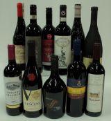 Italian Red Wine (11 bottles): Cecchi Sagrato Chianti Classico 2018;