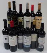 Rioja: Altos de Corral Reserva 2011; Anatano Reserva 2016;