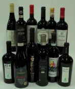 Italian Red Wine: 142-4 Vino Nobile di Montepulciano 2016; Villa Canestrari Plenum Amarone 2013;