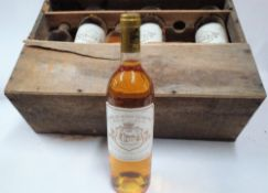 Chateau Doisy-Védrines Sauternes 1988 (12 bottles) Condition Report These are 75cl