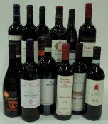 Italian Red Wine: Piromafo Negroamaro Salento 2015; Terra San Giovanni Primitivo Salento 2018;