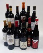 French Red Wine: Chateau de Sainte Gemme Grand Vin Haut-Medoc 2014;