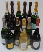 Champagne: Nominé-Renard Brut; Jeeper Grand Réserve Brut; Charles Ellner Seduction Brut 2007;