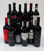 Italian Red Wine: Zensa Nero d'Avola Biologico 2019; Regio Cantina Donpa Aglianico del Vulture 2016;