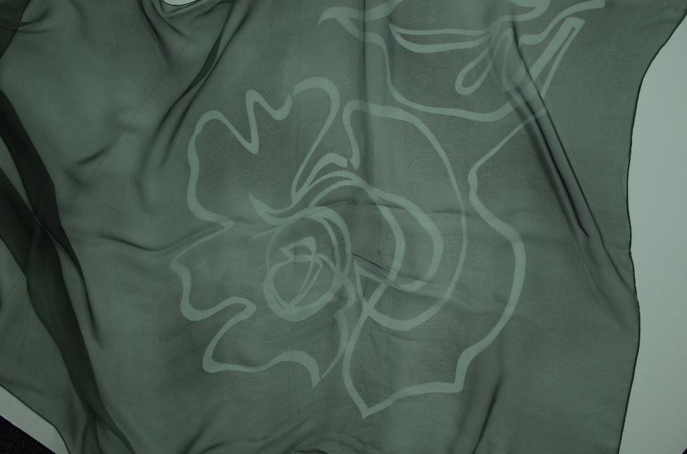 A collection of designer silk scarves comprising a Salvatore Ferragamo example; - Image 7 of 7