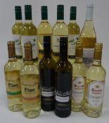 Spanish White Wine: Silandeiro Albarino 2019 (2 bottles); Senorio de los Llanos Crianza Blanco 2017;