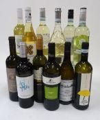 Italian White Wine: Ca Bolani Sauvignon 2019; Numen Chardonnay 2019;