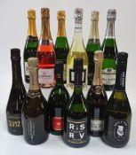 Champagne: Laurent Lequart Extra Brut 2012; Régis Poissinet Cuvée Irizée Extra Brut;