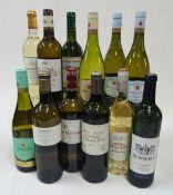 French White Wine: Pierre Jaurant Pinot Gris 2019; Roqueblanche Bordeaux Sauvignon Blanc 2019;