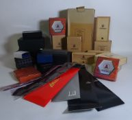 Luxury items, including; ties, bags, knives, ashtrays and sundry, (qty).