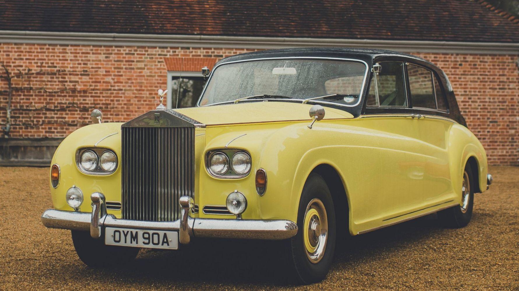 A 1963 Rolls Royce Phantom V