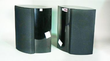 Bang and Olsen; a pair of BeoLAB 4000 speakers