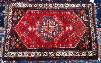 A Shiraz rug