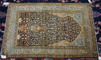 An Indian prayer rug