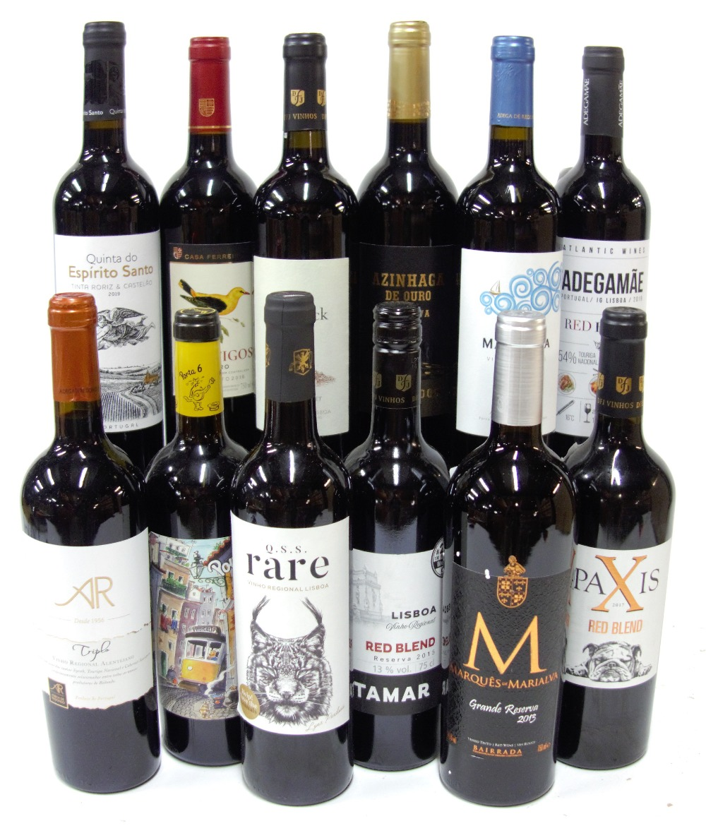 12 BOTTLES PORTUGUESE RED WINE