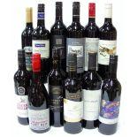 12 BOTTLES AUSTRALIAN RED WINE