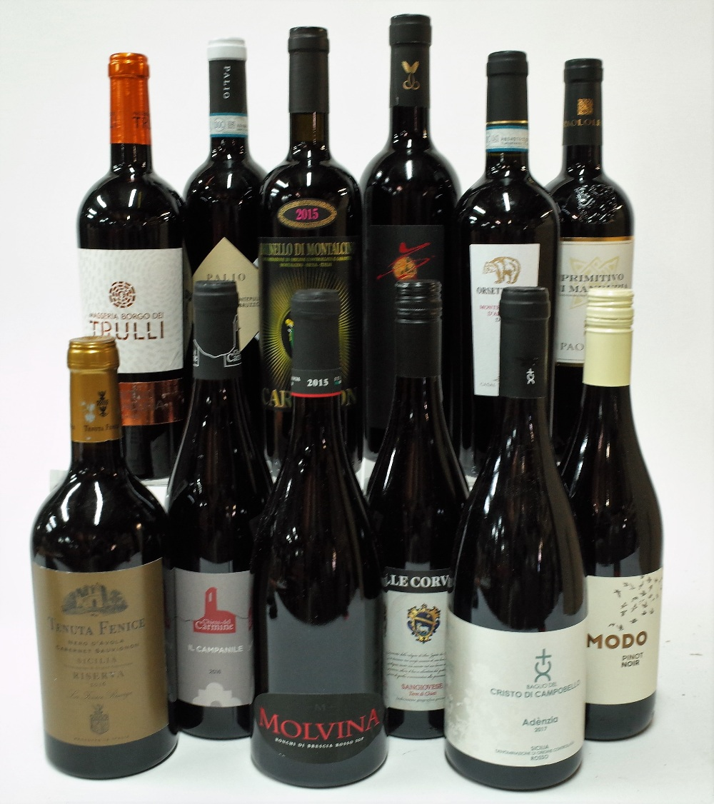 12 BOTTLES ITALIAN RED WINE - Image 2 of 2