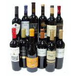 12 BOTTLES SPANISH RED WINE