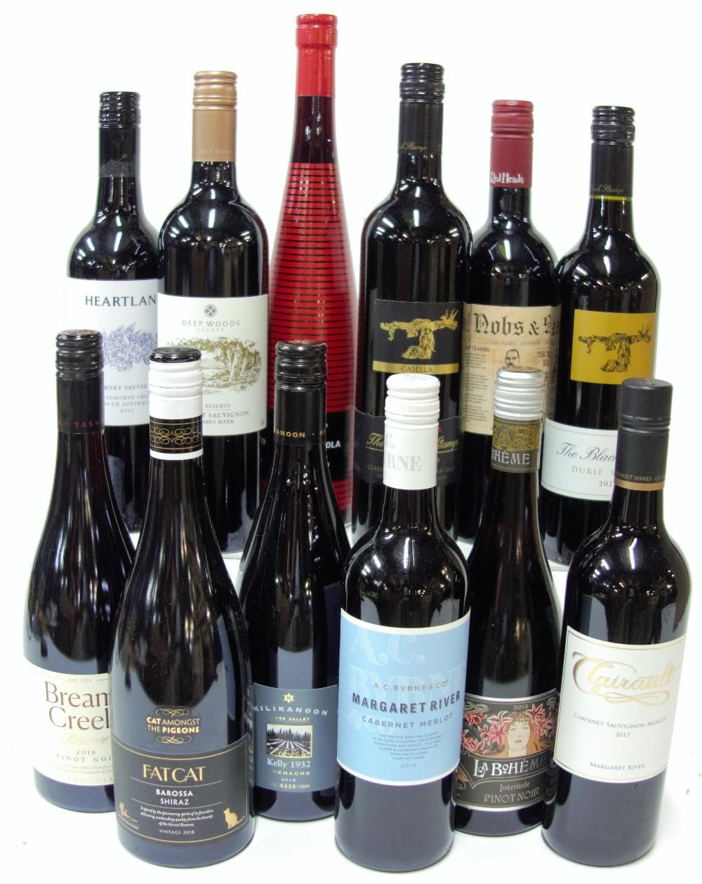 12 BOTTLES AUSTRALIAN RED WINE - Image 2 of 2