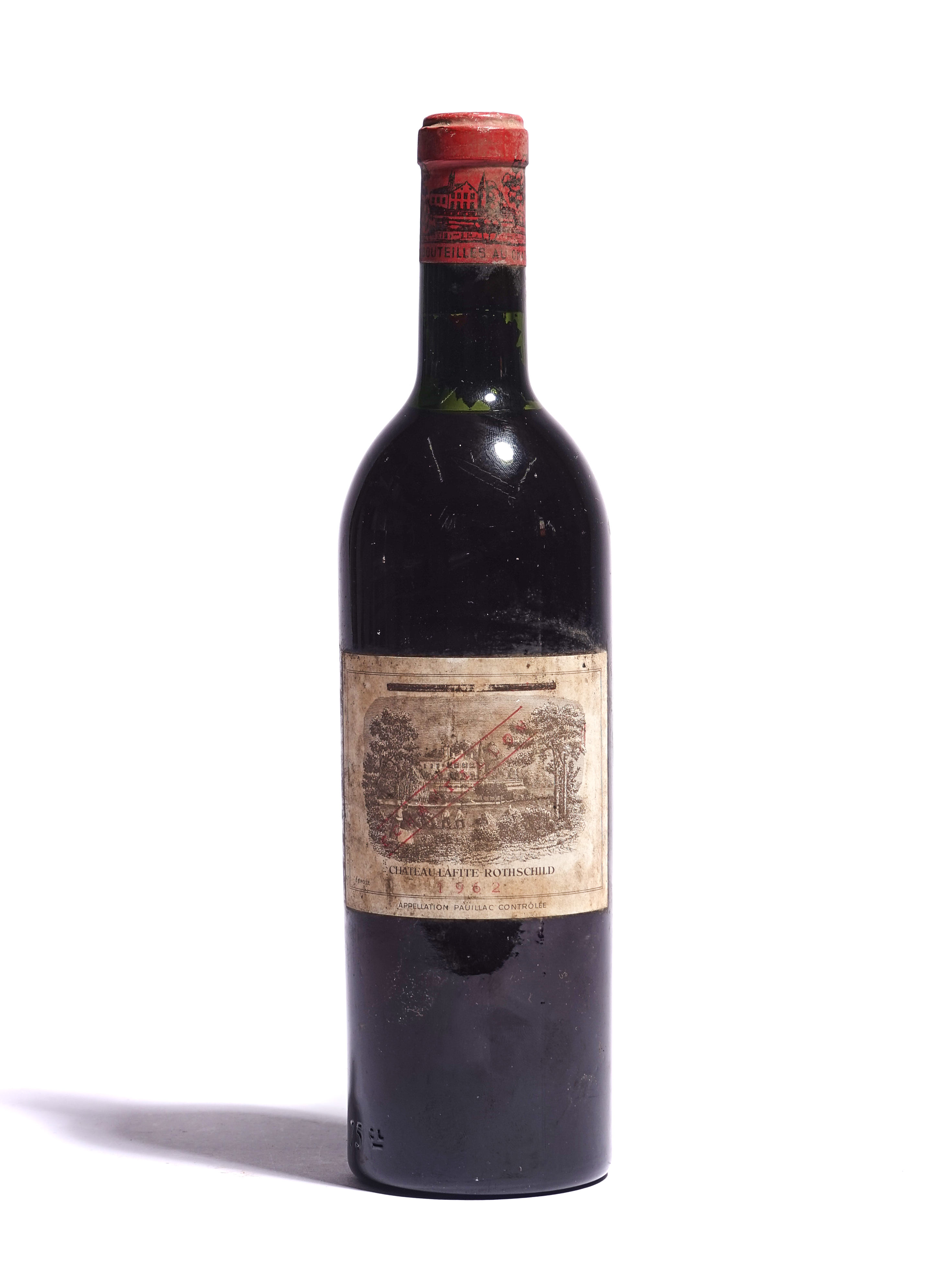 A 75CL BOTTLE OF 1962 CHATEAU LAFITE-ROTHSCHILD - Image 2 of 2