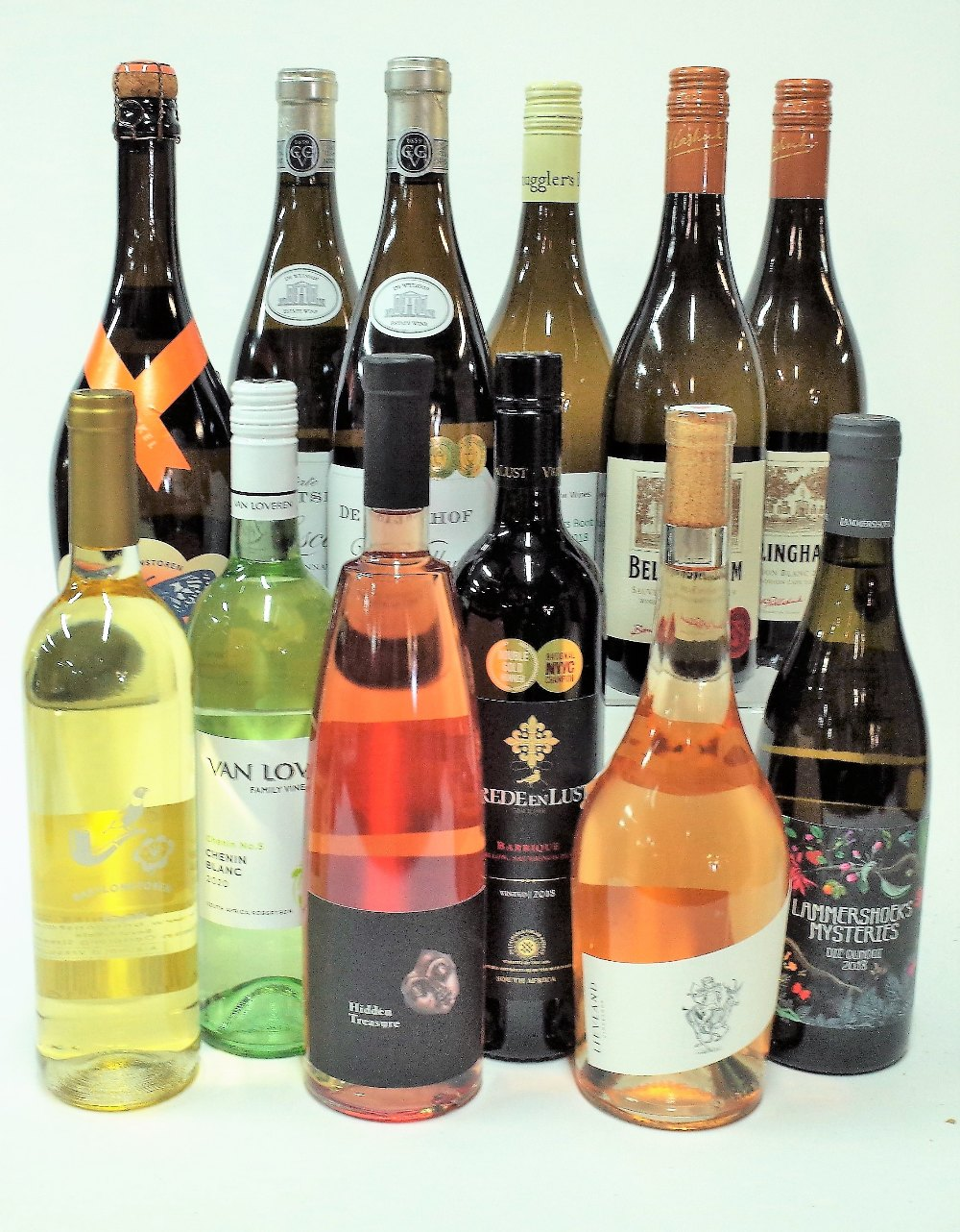 12 BOTTLES SOUTH AFRICAN WHITE WINE - Image 2 of 2