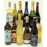 12 BOTTLES SPANISH WHITE AND SPARKLING WINE