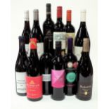 12 BOTTLES SOUTH AFRICAN RED WINE