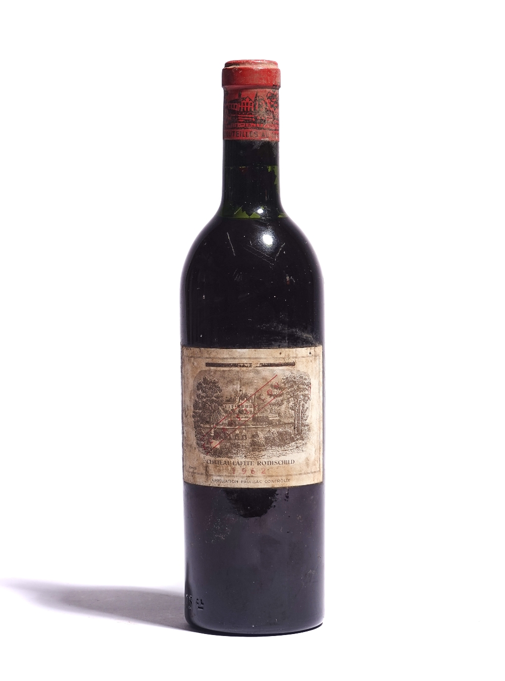 A 75CL BOTTLE OF 1962 CHATEAU LAFITE-ROTHSCHILD