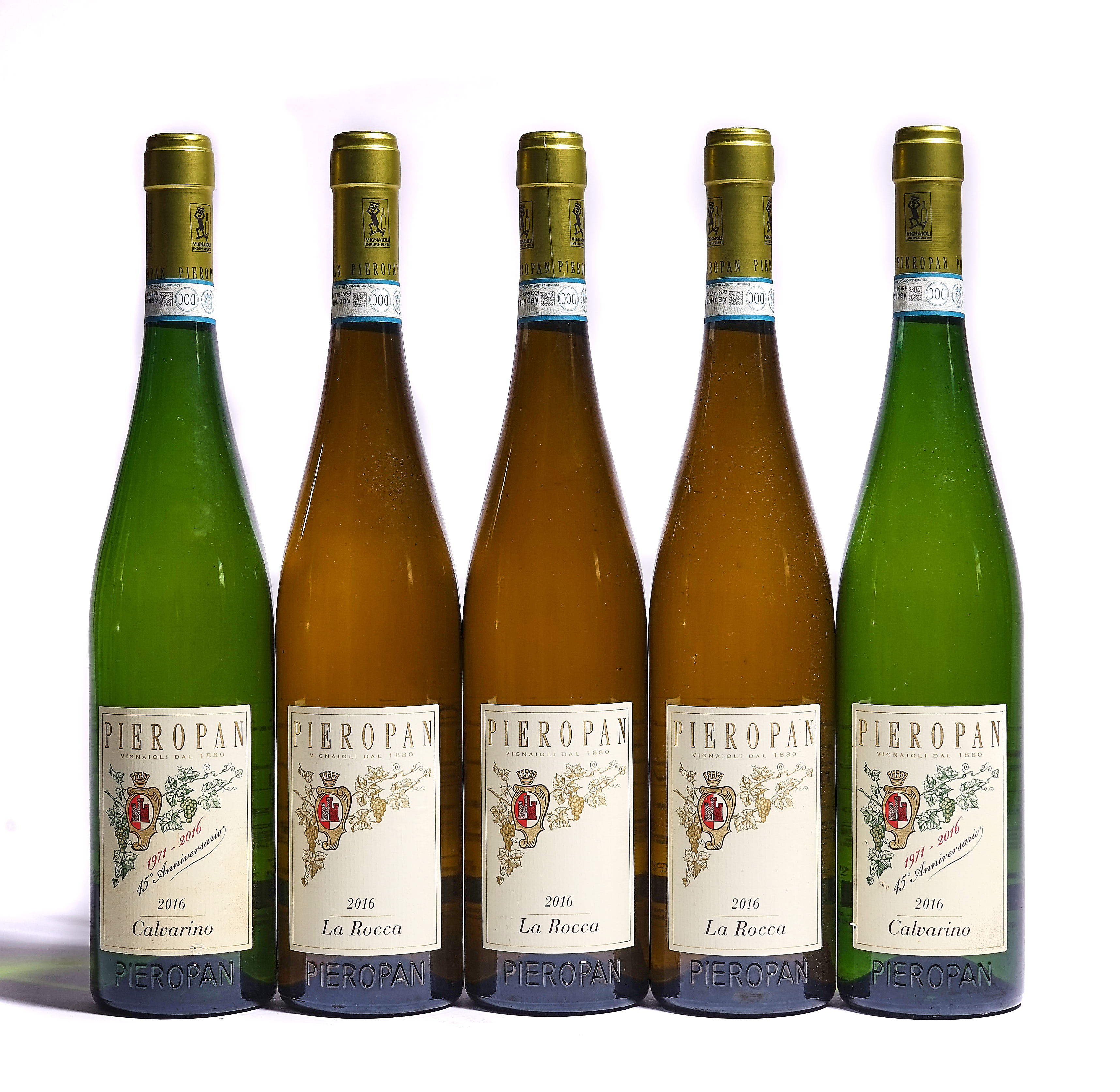 12 BOTTLES ITALIAN AND GERMAN WHITE AND FRENCH RED WINE - Image 2 of 4