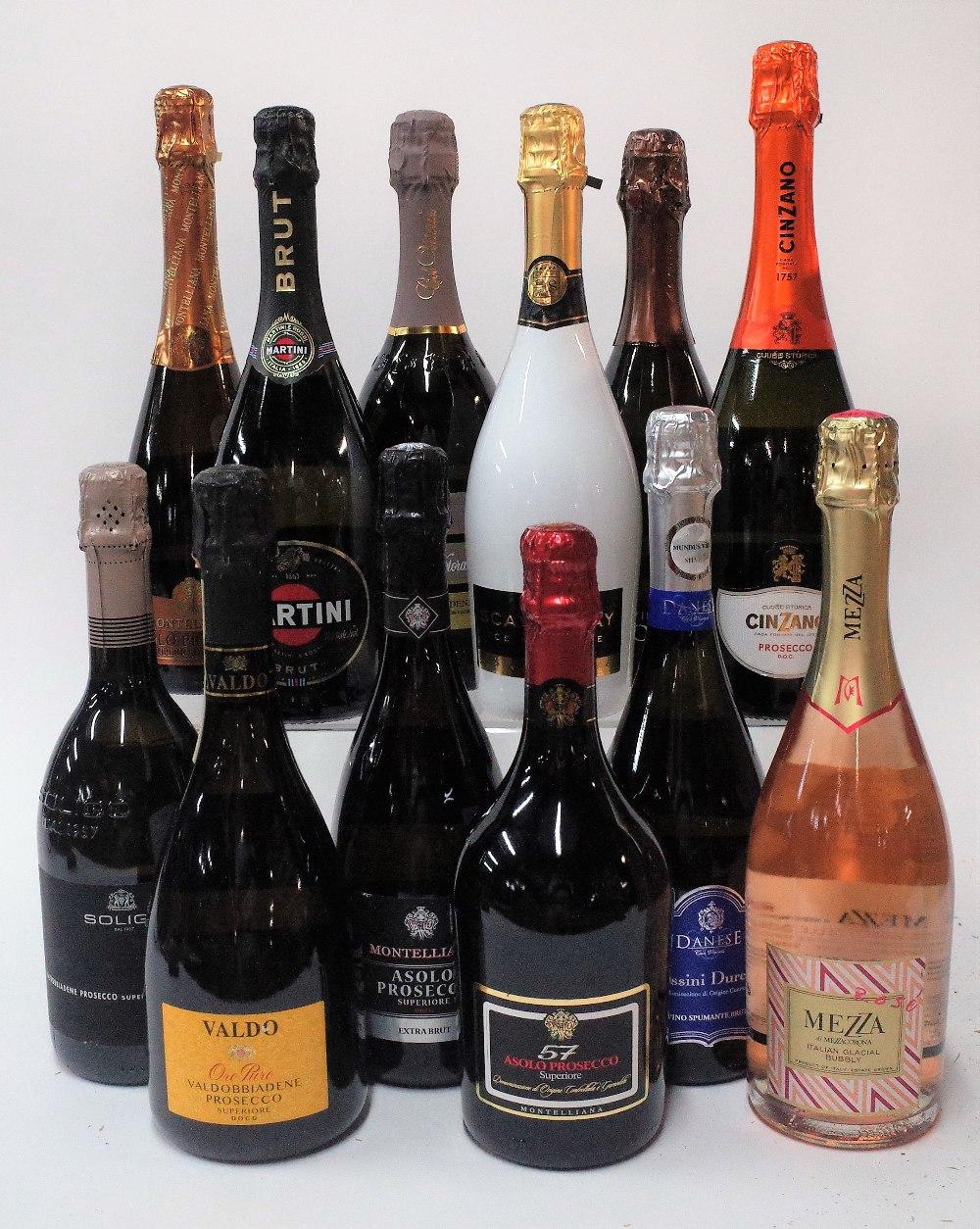 12 BOTTLES ITALIAN SPARKLING WINE - Image 2 of 2