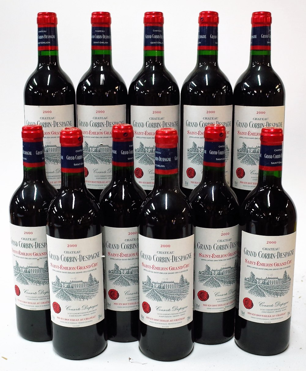 11 BOTTLES FRENCH RED WINE