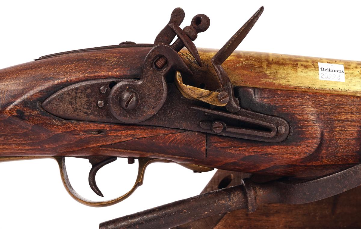 A FLINTLOCK SWIVEL BLUNDERBUSS 'BOAT GUN' - Image 2 of 13