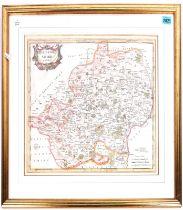 A ROBERT MORDEN MAP OF HERTFORDSHIRE
