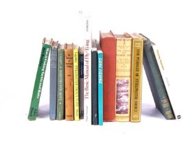 FISHING INTEREST; A QUANTITY OF FISHING RELATED BOOKS (QTY)