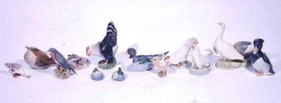 ELEVEN ROYAL COPENHAGEN ANIMALS AND BIRDS (13)