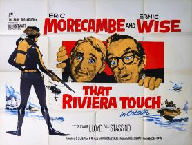 FILM POSTER; THAT RIVIERA TOUCH