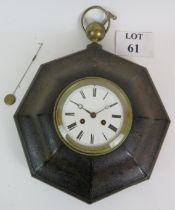 A late 19th Century fob style striking w