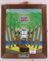 A vintage Beach Comber penny arcade mach