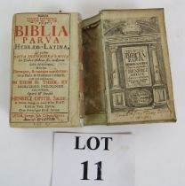 Biblia Parva Hebrew Latin translation Bi