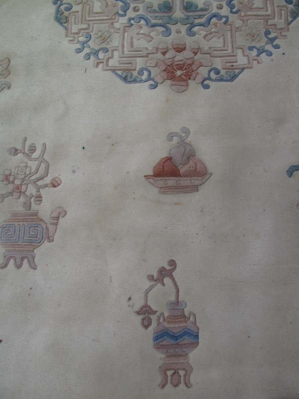 A large 20th century Chinese carpet on c - Image 3 of 6