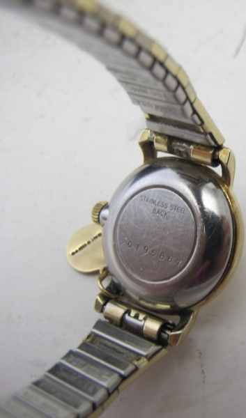 A ladies Longines wristwatch 'Gold Elect - Image 3 of 3