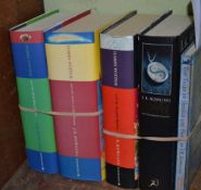 FIVE J.K. ROWLING BOOKS, The Order of the Phonenix, The Half Blood Prince,