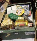 A BOX CONTAINING A SELECTION OF PREDOMINANTLY BOXED COLLECTOR'S VEHICLES VARIOUS
