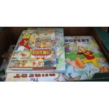 A SELECTION OF HARDBACK RUPERT ANNUALS