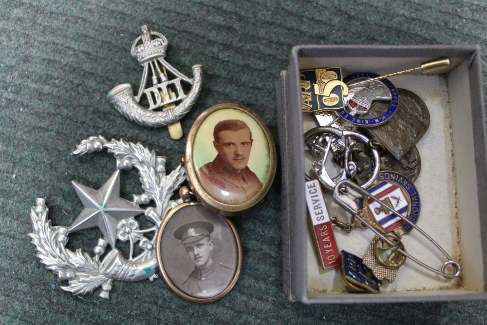 A SELECTION OF BRITISH MEDALS VARIOUS together with associated items - Image 2 of 2