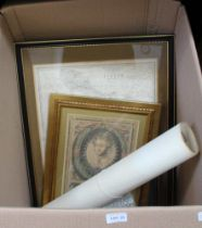 A GOOD AND VARIED SELECTION OF VINTAGE MAPS & PRINTS