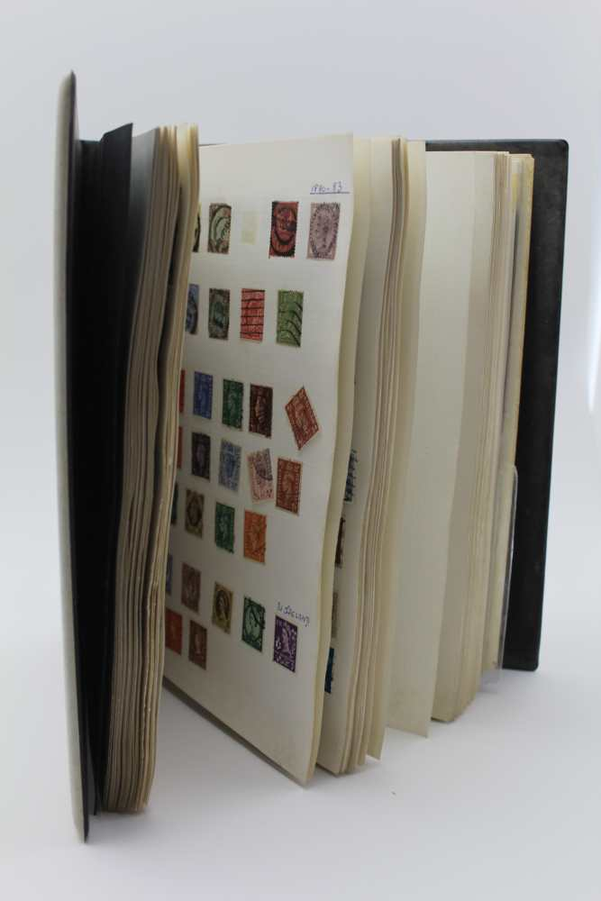 LARGE WHITE ALBUM with good number of World stamps, including GB & Commonwealth